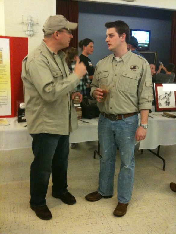 Matt at his National Wild Turkey Federation Banquet